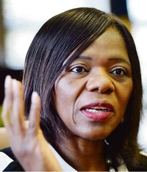 Public Protector Thuli Madonsela at her offices in Pretoria. Picture: Leon Sadiki/City Press