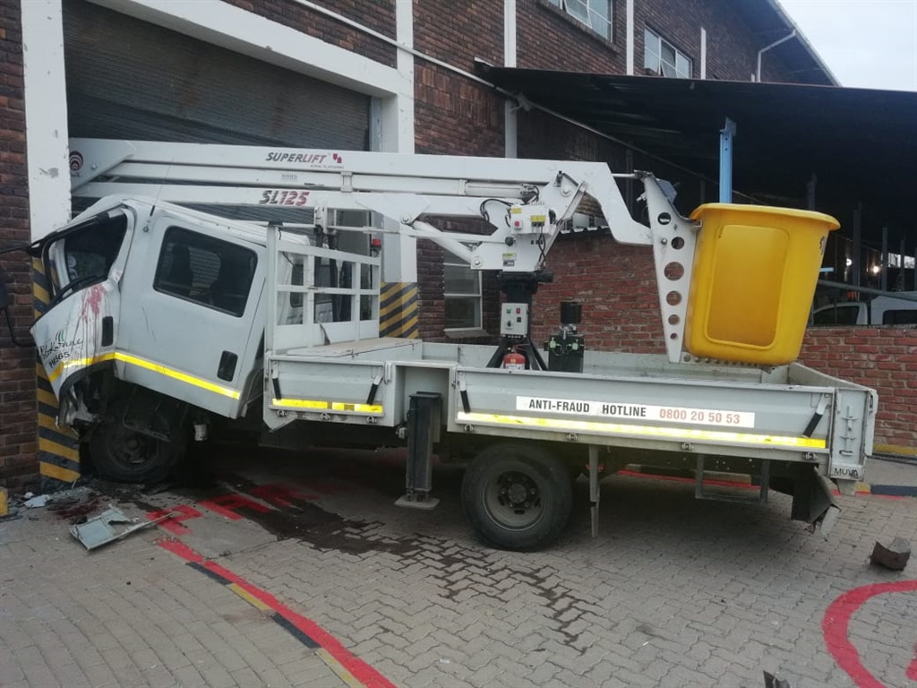 Polokwane municipal worker locks himself in truck, runs over officer and damages 7 vehicles - News24