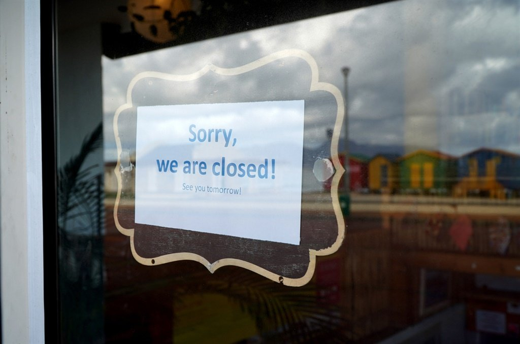 Findings show that 4% of SA businesses have permanently shut down while 19% of business are still temporarily closed with the expectation that they will re-open. Picture: iStock