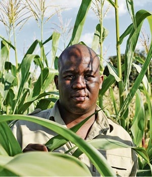 Motlapele Morule's family has been farming in North West for as long as he can remember, and the hip-hop artist says it was inevitable that he'd get involved in it too. Picture: ELIZABETH SEJAKE