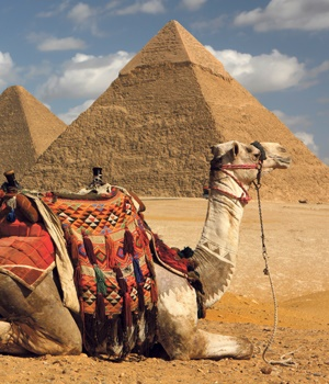 The pyramids are but one powerful example of an African continent that was bustling with development.  Picture: istock