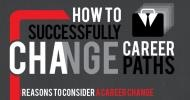 Infographic: How to successfully change career paths