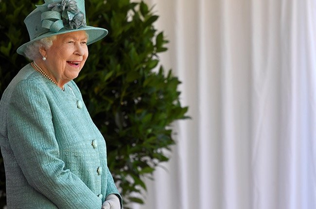 Queen Elizabeth II attends a ceremony to mark her