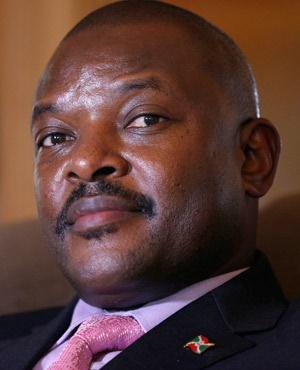 Pierre Nkurunziza. (File: AFP)