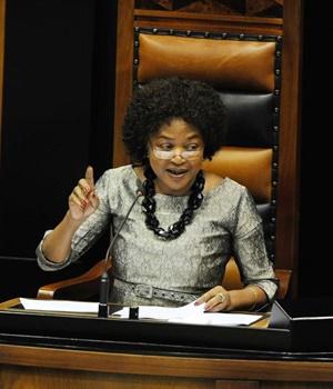 Baleka Mbete. Picture: Leanne Stander/Foto24