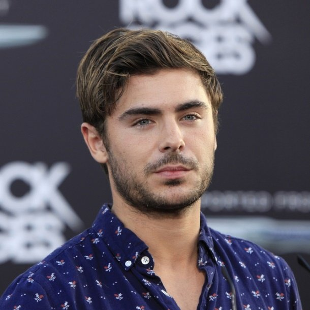zac efron oval face