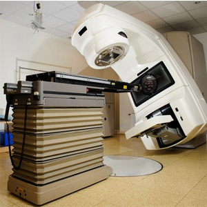 Linear accelerator for prostate cancer radiation t