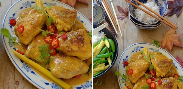 recipes, curry, Thai