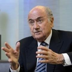 Sepp Blatter. (AFP)