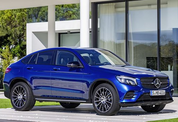 mercedes benz glc coupe arrives in sa wheels24. Black Bedroom Furniture Sets. Home Design Ideas