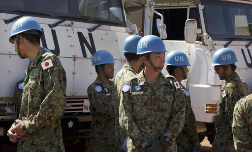 GALLERY: Japanese Troops arrive in South Sudan | News24