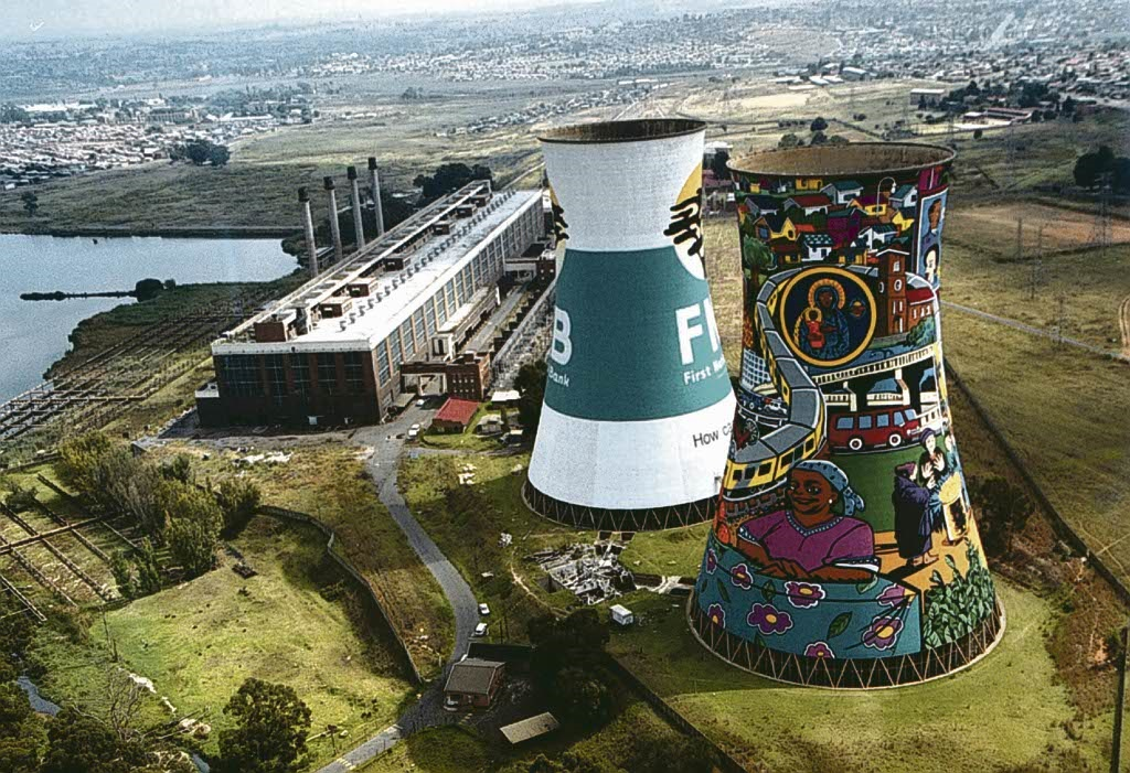 The Orlando Towers in Soweto