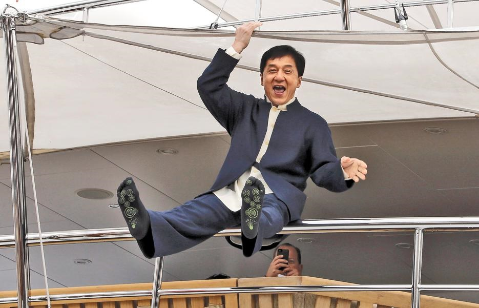 Jackie Chan. Picture: Reuters