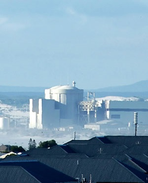 The Koeberg nuclear power station just outside Cap