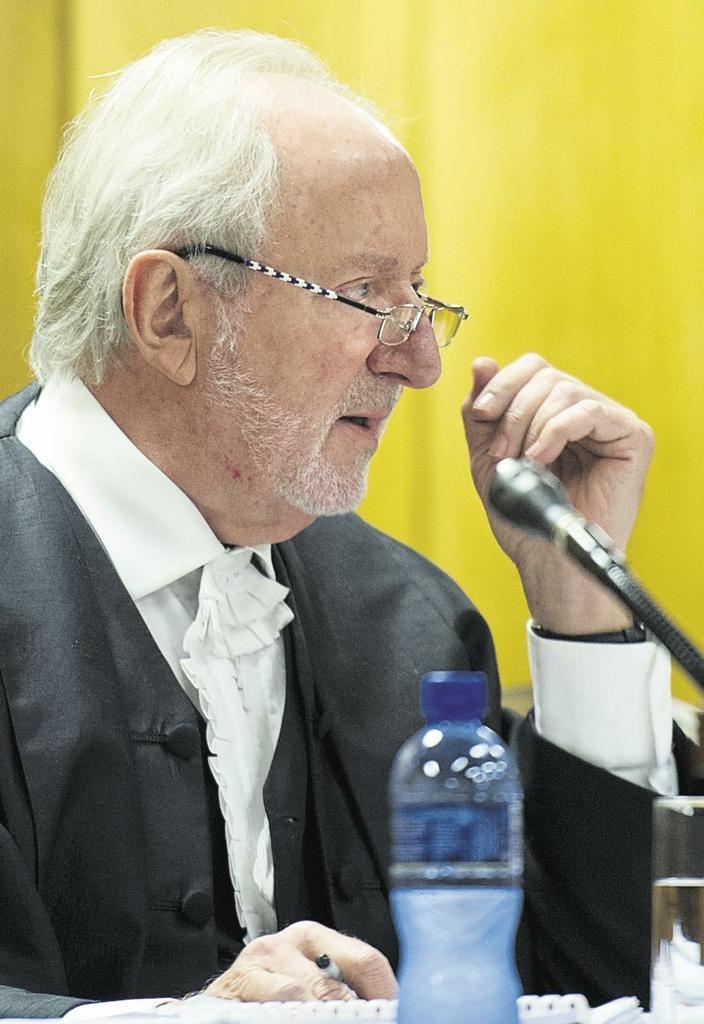 Regter Hans Fabricius