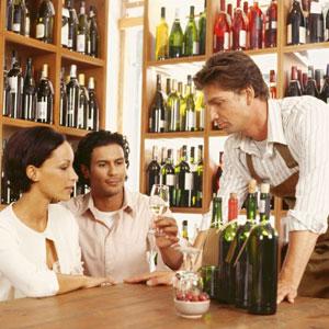 A tutored winetasting
