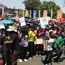 See pictures from the University of the Free State and surrounds as UFS students join the #FeesMustFall protests.