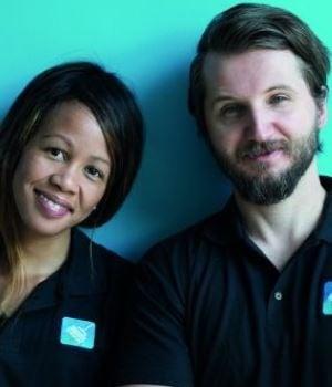 Aisha Pandor & Alen Ribic SweepSouth founders