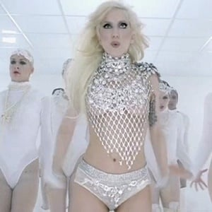 "Lady Gaga in the music video for "" Bad Romance"""
