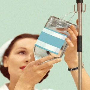 Could your flu remedy come from an IV drip?