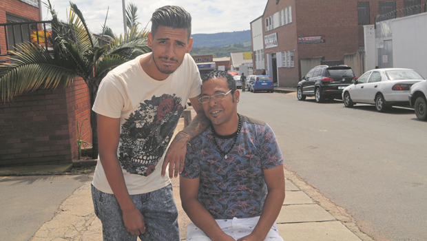 Former drug addicts Jonathan Connor and Kent le Roux have beaten their addictions and hope to stay clean and use their time to inspire local youngsters with their stories.