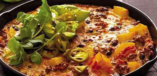recipe, mexican, eggs