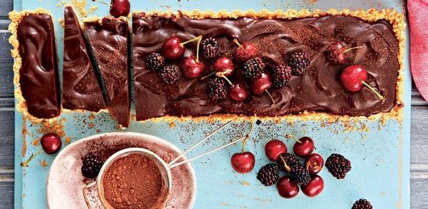 recipe, chocolate, tart