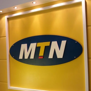 MTN logo. (Duncan Alfreds, Fin24)