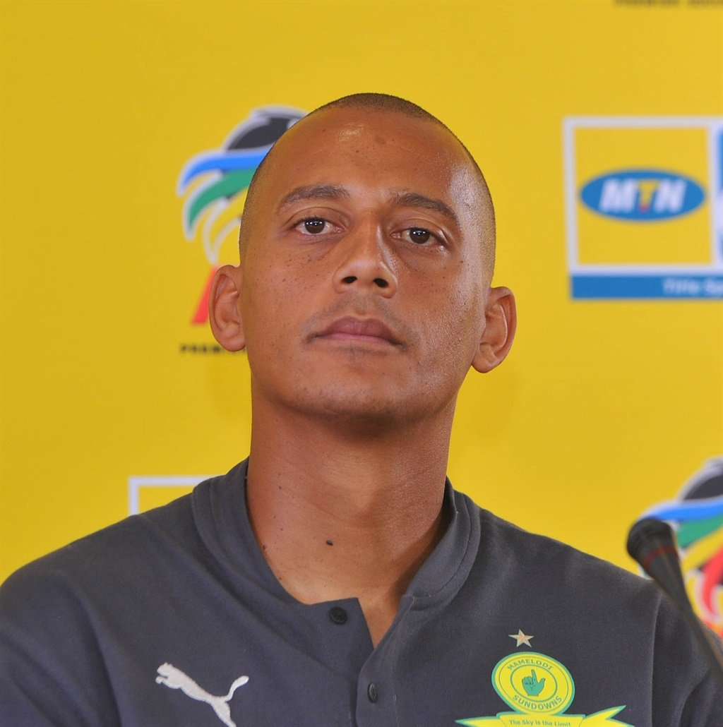 Wayne Arendse of Mamelodi Sundowns  during the Mam