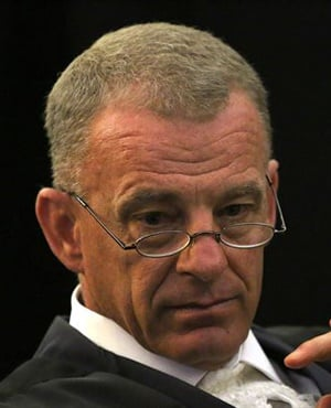 Prosecutor Gerrie Nel has been nominated as a candidate to replace Thuli Madonsela as Public Protector. (Siphiwe Sibeko, AFP)