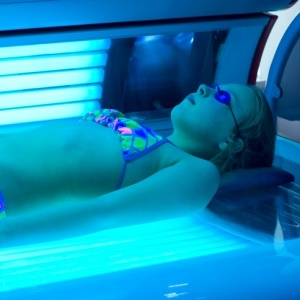 Sunbeds bad for minors
