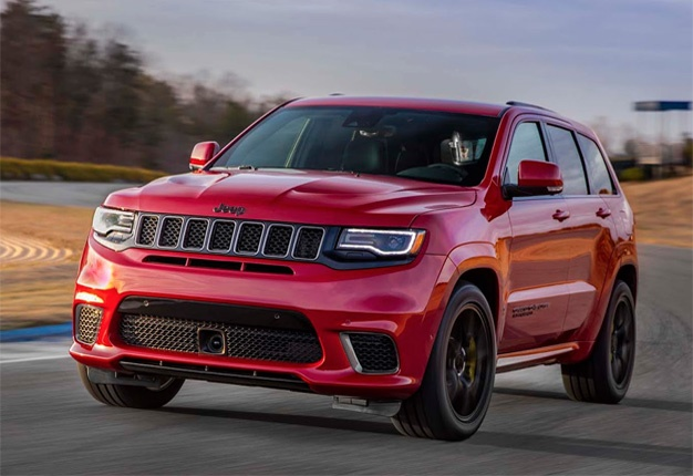 Jeep S Most Powerful Suv Yet Meet The 527kw Trackhawk Wheels24