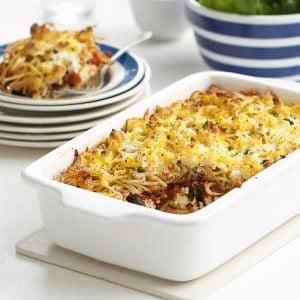 recipe, pasta, bake, tomato,cheese