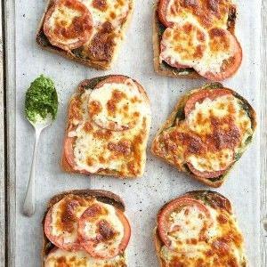 recipe, bread, tomato, light meals,cheese
