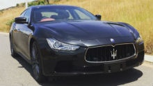 WATCH: The aggressive beauty of the Maserati Ghibli