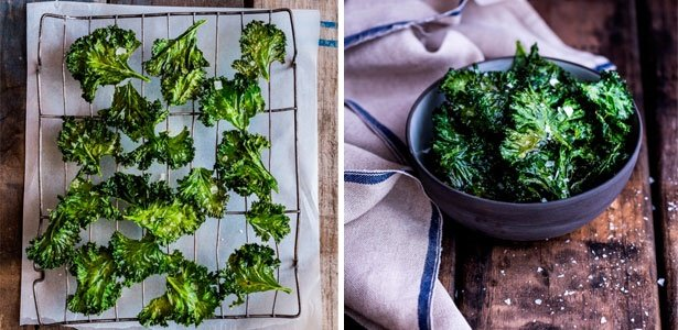 Kale chips, recipes, snacks