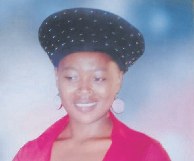 Thembeka Sithole was stabbed to death at her home in Bhamshela.