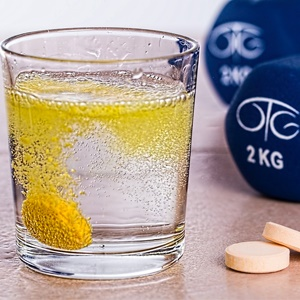 Supplements and sports. Source: Pixabay.