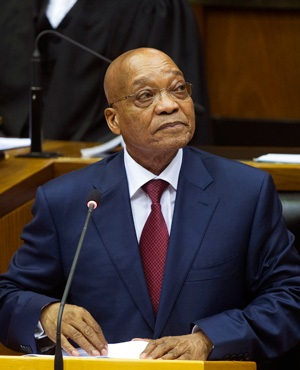 President Jacob Zuma (AP)