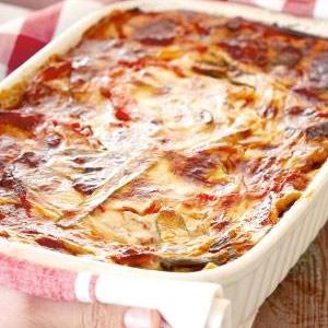 recipe, lasagne, vegetables, vegetarian