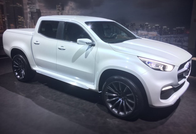 5 things we learned about merc 39 s sa bound x class bakkie for X class mercedes benz price