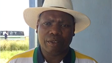 Pomp and ceremony in KZN as Zweli Mkhize encourages youth to vote