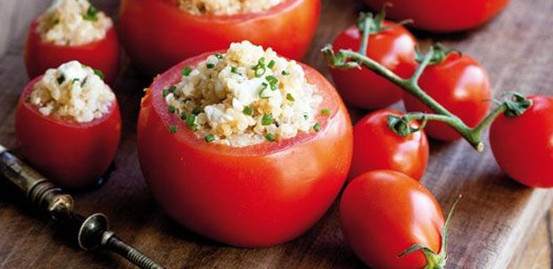recipe, tomatoes, quinoa,vegetarian