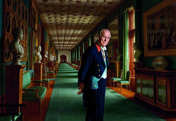 Prins Philip, die hertog van Edinburgh, is op 9 Ap
