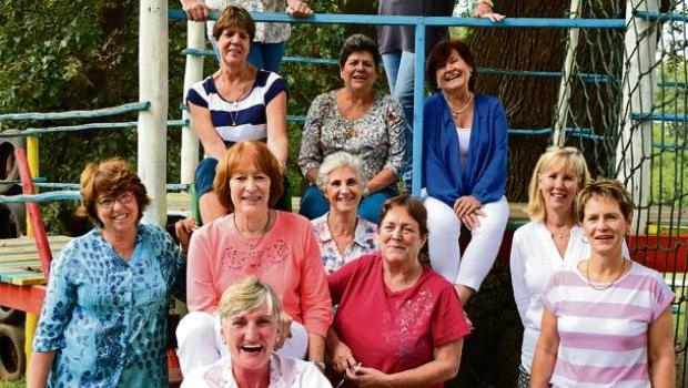 Grey's Hospital trainee nurses of 1972 at their 43rd reunion at Hebron Haven Hotel last weekend.