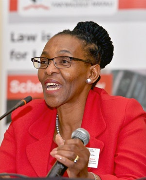 Justice Mandisa Maya - Deputy Judge President: Supreme Court of the Republic of South Africa (UKZN School of Law website)