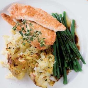 recipe, chicken, potatoes,dinner