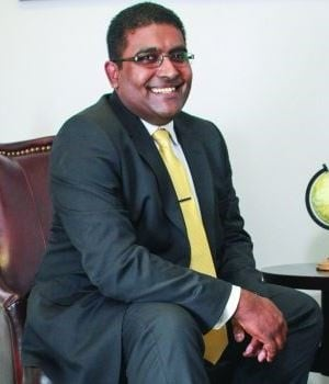 Reginald Pillay, managing director of Ariston Global. (Picture supplied).