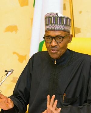 President Muhammadu Buhari. (File: AFP)