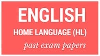 Old matric papers English